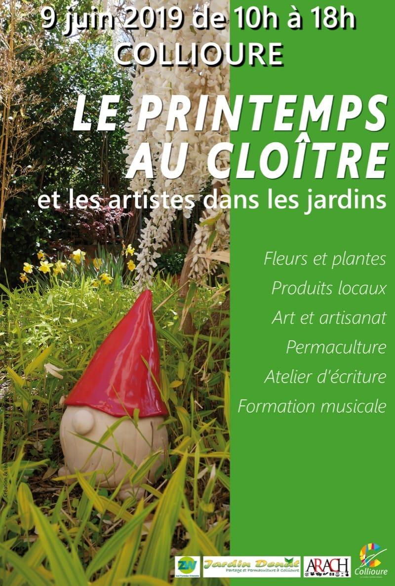 Affiche Jardin Collioure