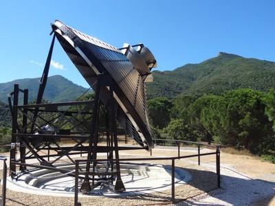 Solar furnace in Sorede
