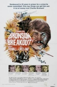 Poster for Breakout. Film with Charles Bronson