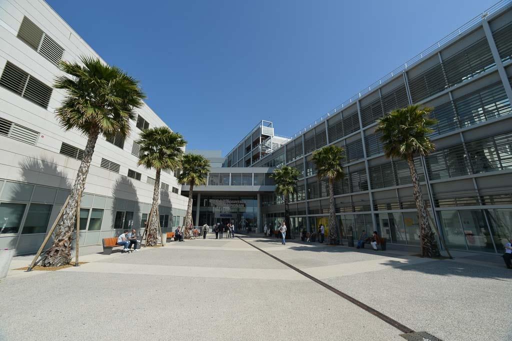 CH Perpignan hospital