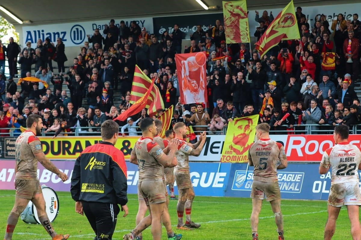Catalan Dragons v. St Helens
