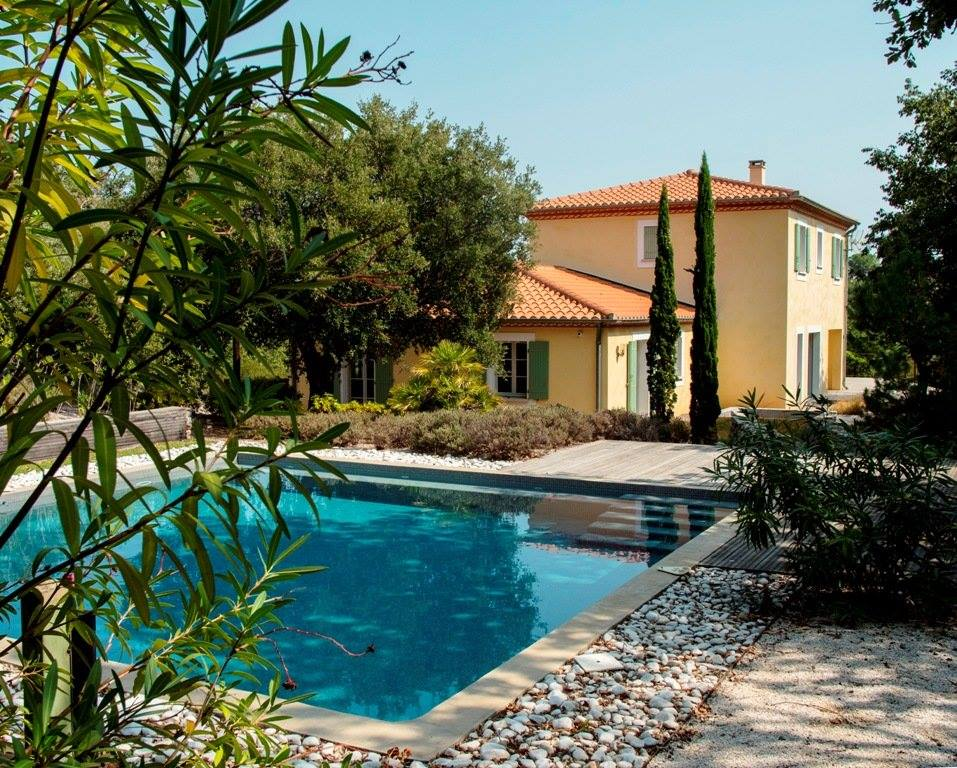 Cayrou Immobilier house and pool
