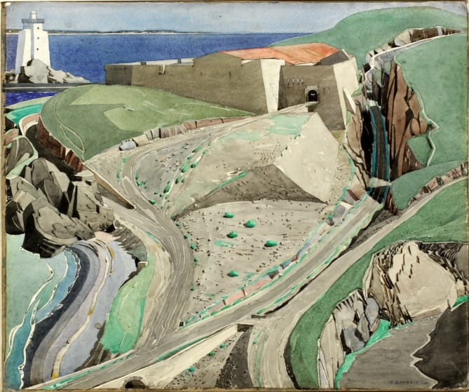 Charles Rennie Mackintosh in Port Vendres