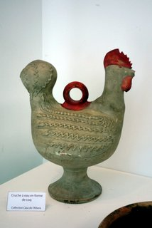 Jug in form of hen