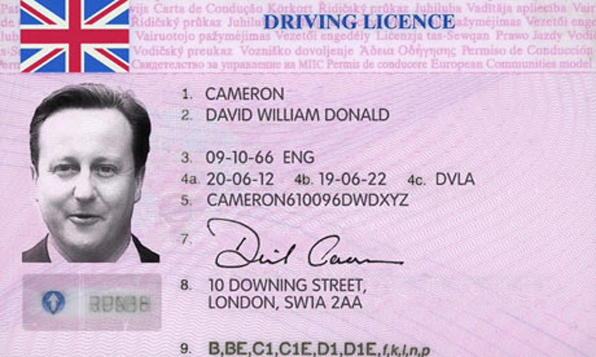 your british driving licence in france