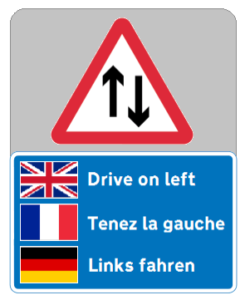 Drive on Left in the UK