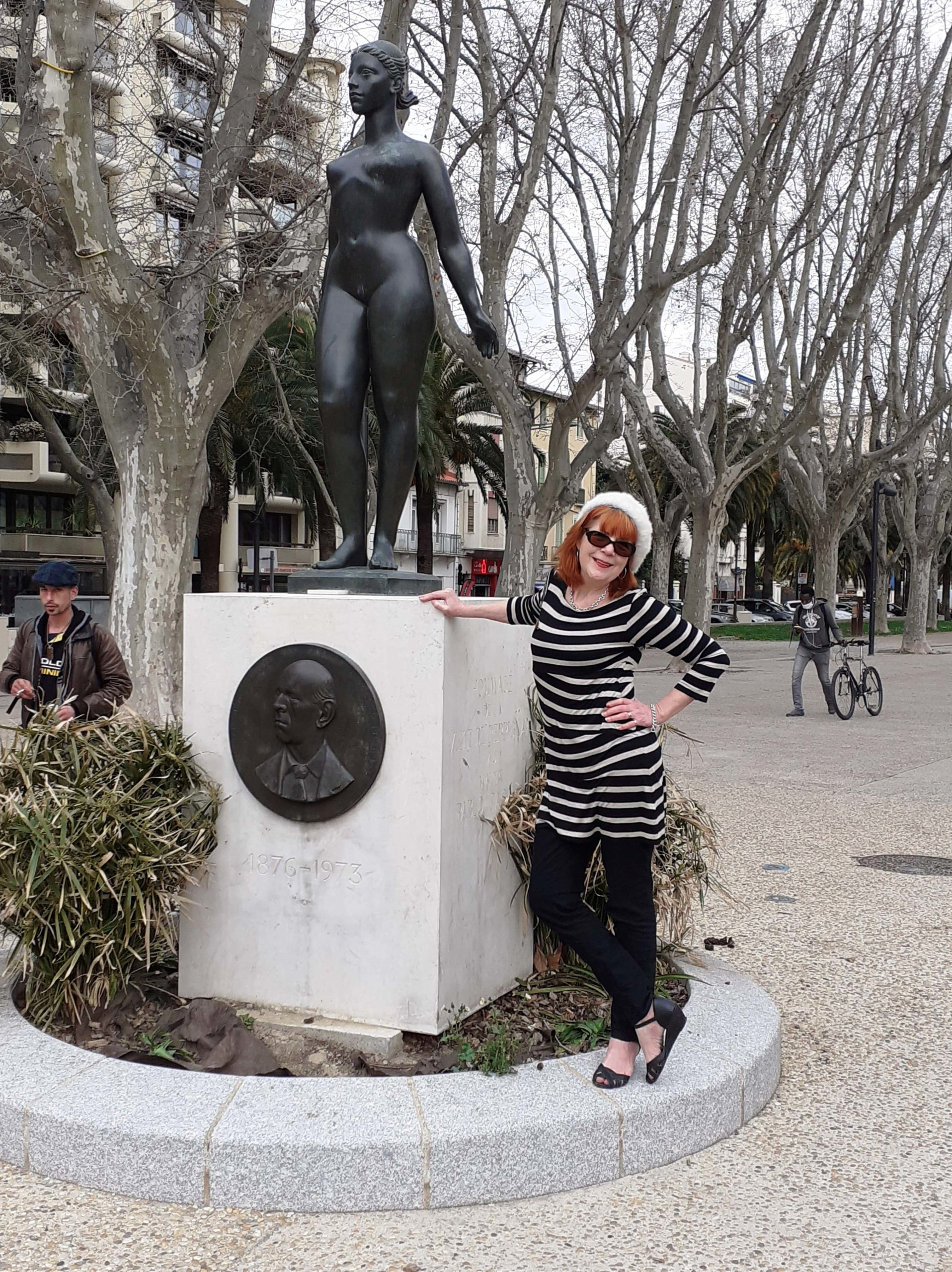 off the beaten track with Elaine Jacobs in Perpignan