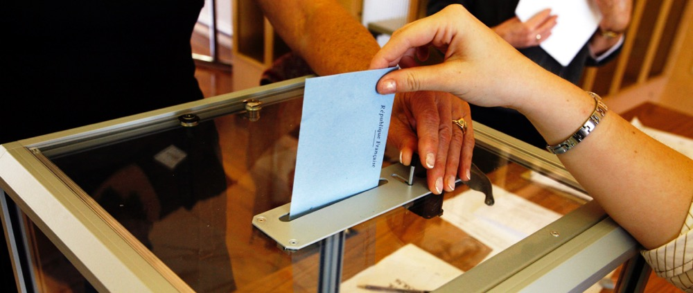 Voting in France elections municpales