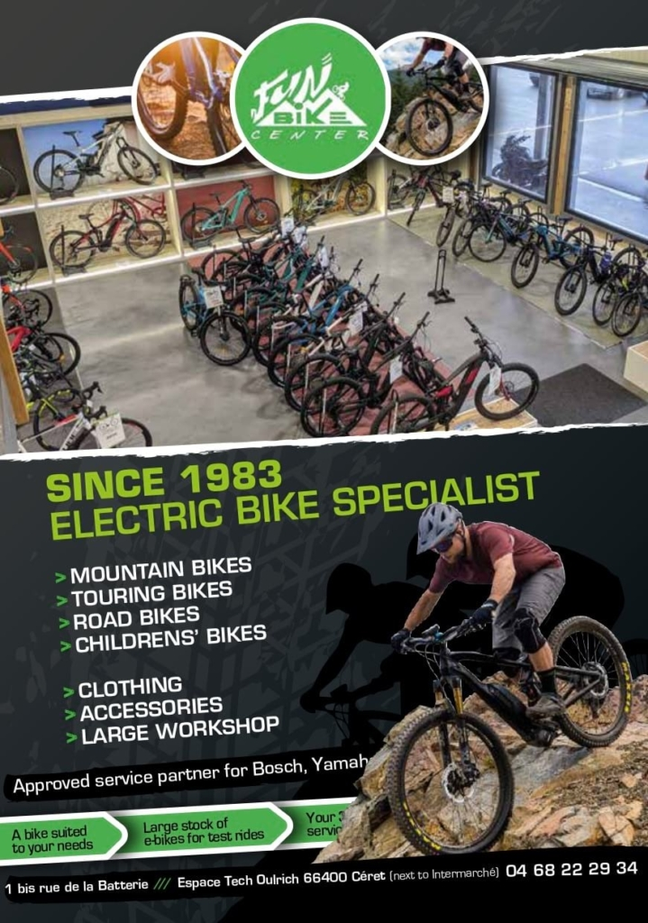 Fun bike centre