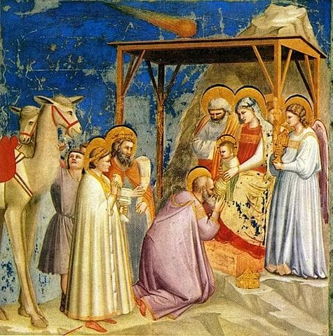Adoration of the Magi by Giotto