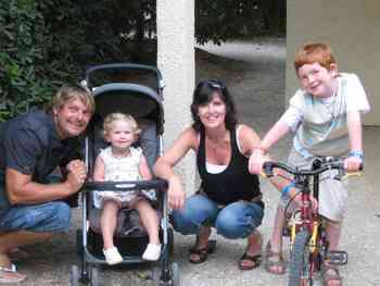 Nicola and Stuart Winter, plus Joseph (7) and Florence (2½), have settled in Prats De Mollo.