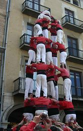 Castells and castellers