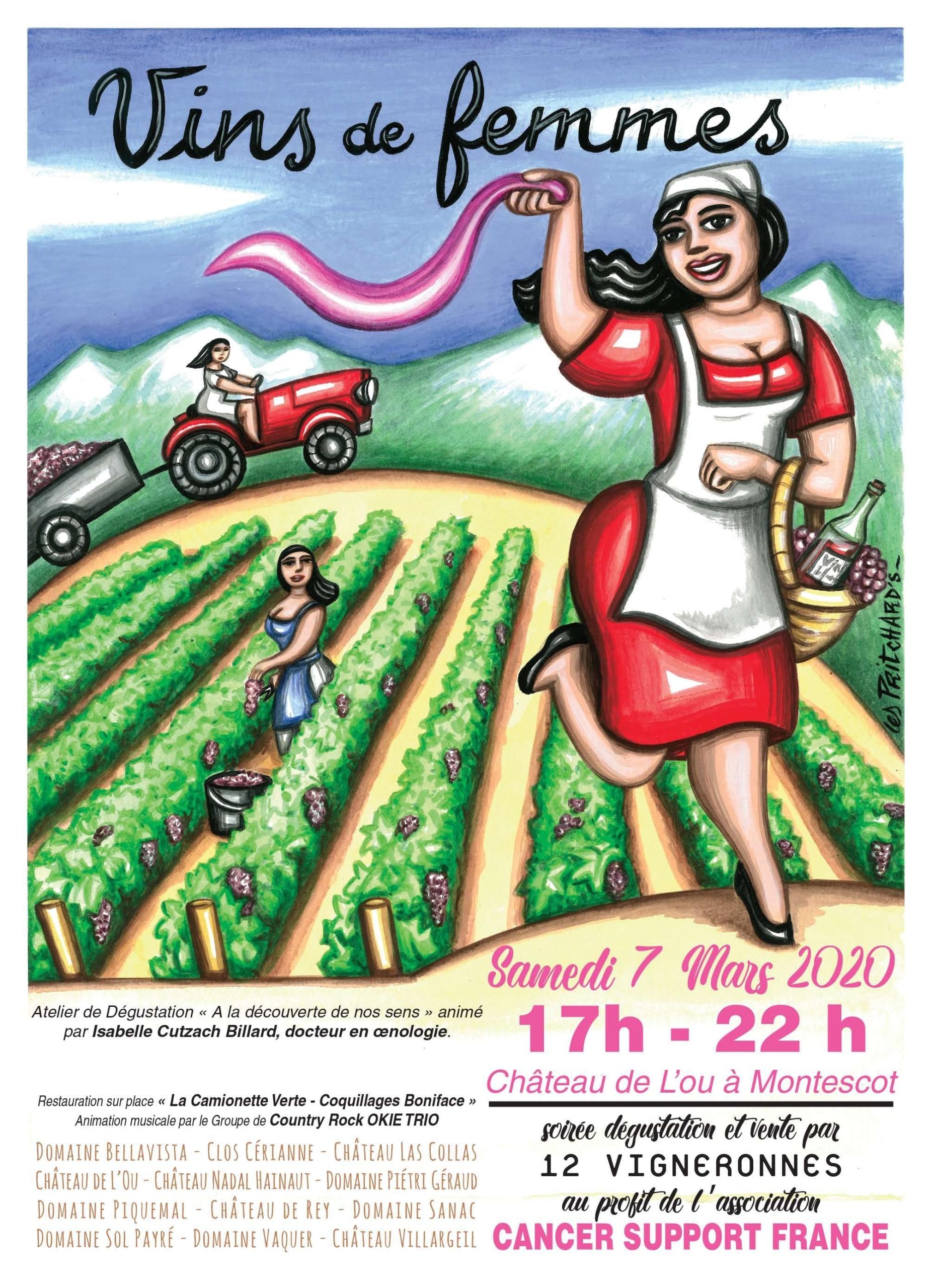 Les Vins de Femmes Montescot