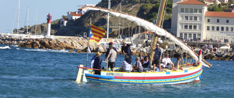 Catalan barque Banyuls