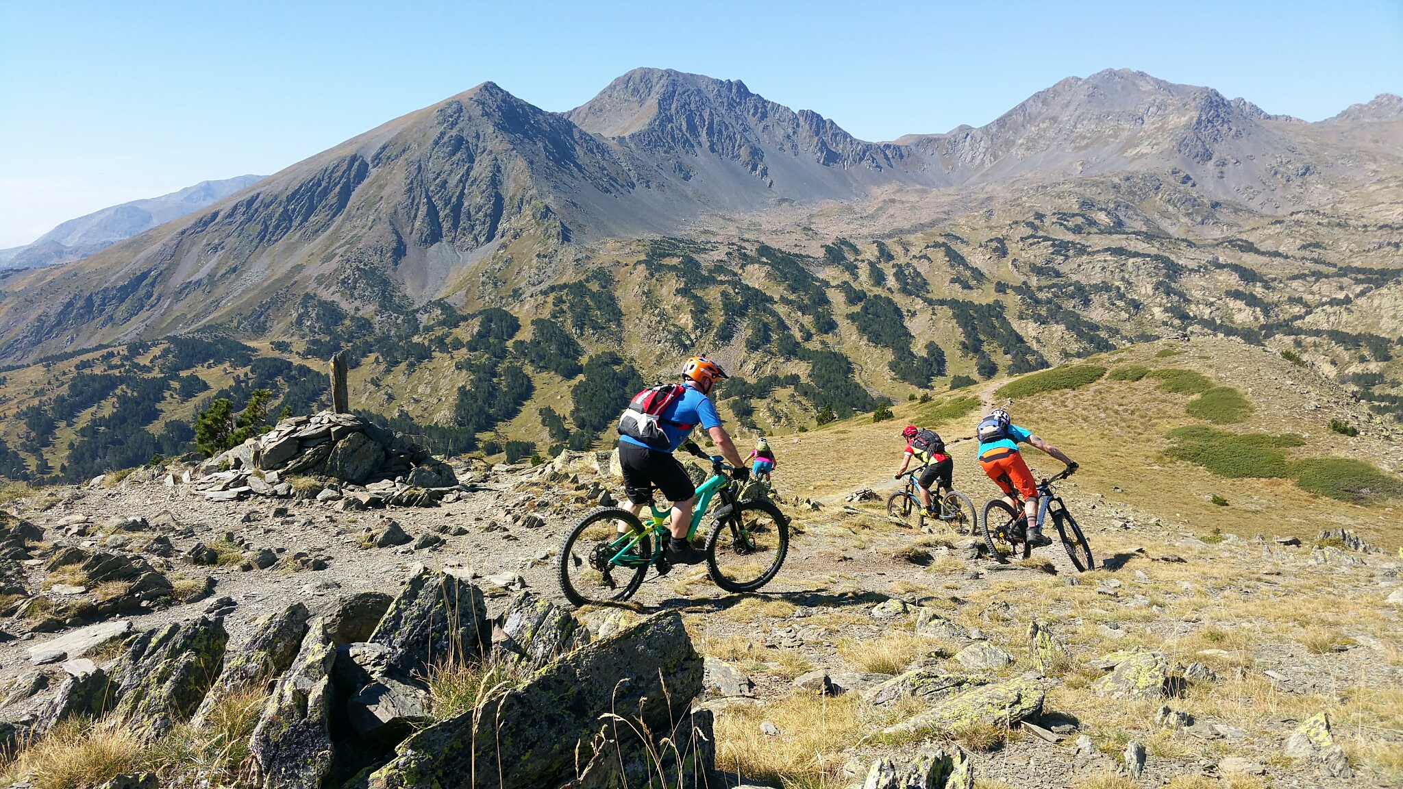 Mountain Biking in the Pyrenees Orientales