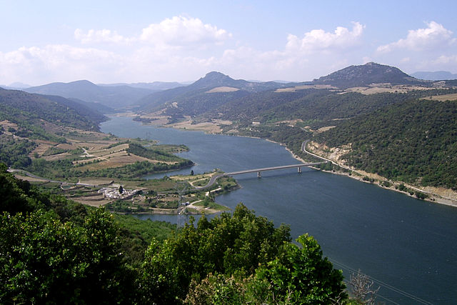 Lakes of the Pyrenees-Orientales Vinça and Caramany