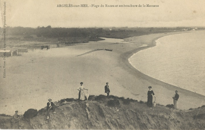 Racou Beach in 1911