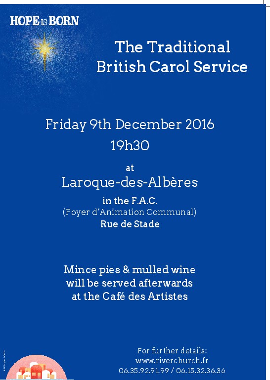 A British Carol Service....with Riverchurch