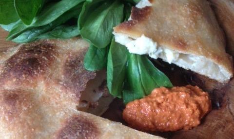 Roast Carrot & Olive Hummus