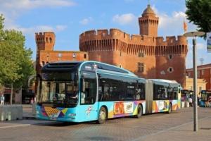 Sankeo bus Perpignan