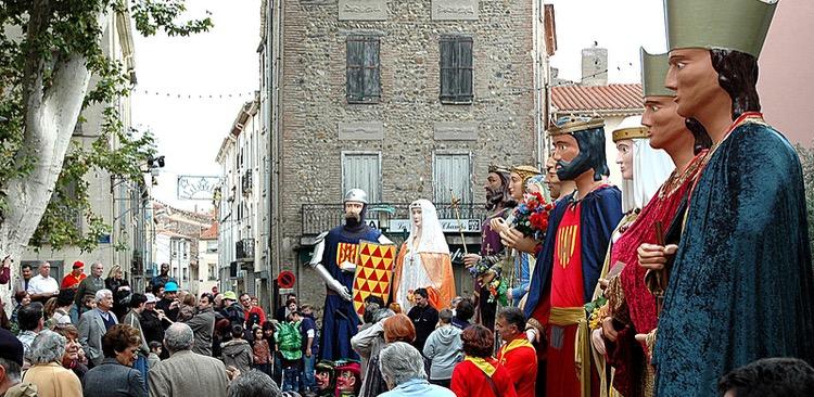 giants in Catalonia
