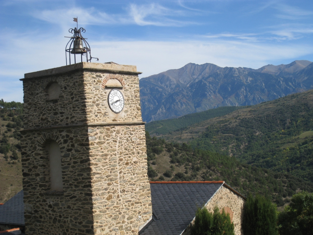 St marie and le Canigou