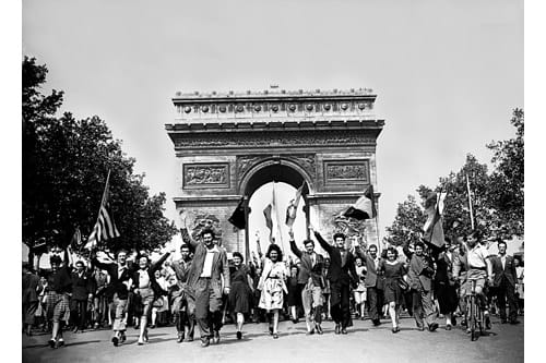 VE Day in France