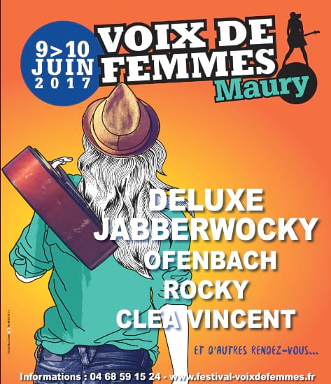 Poster, Women's Voices Festival, Maury