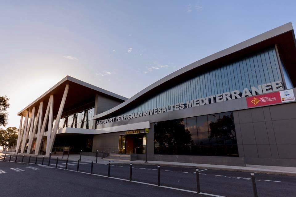 airport perpignan