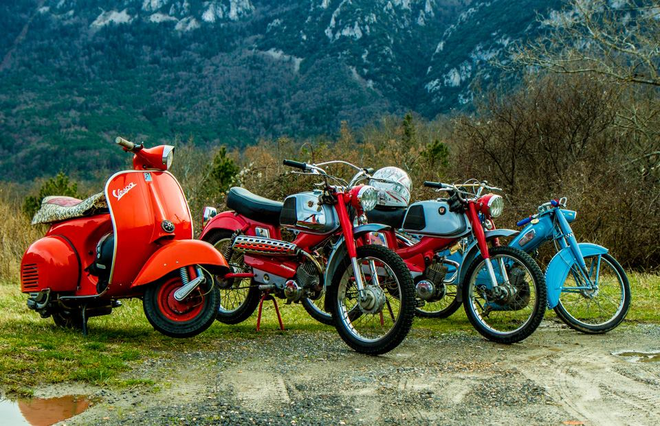 Vintage bikes, Papy Mob