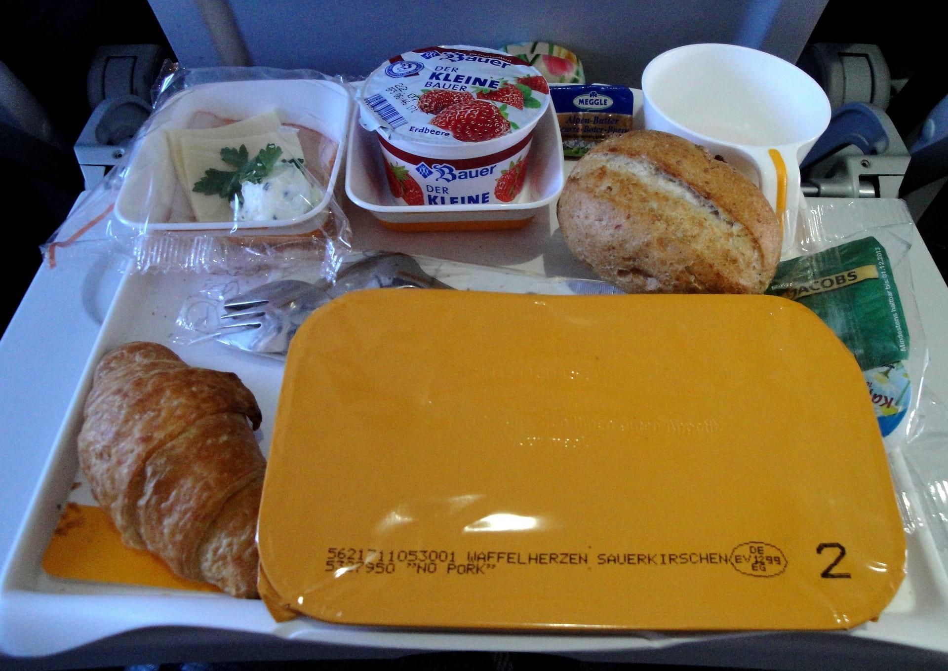 suzanne food picnic plane food