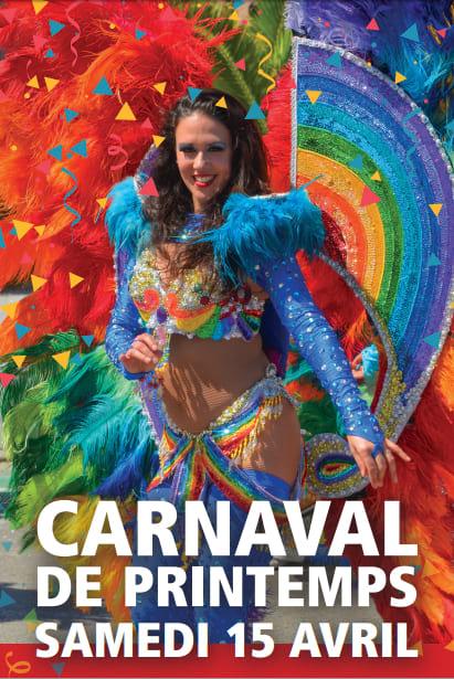 Springtime carnaval at Le Temps des fleurs