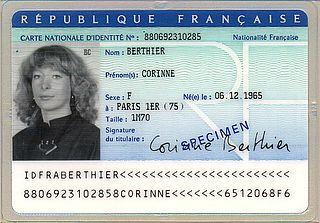 passport carte d'identité