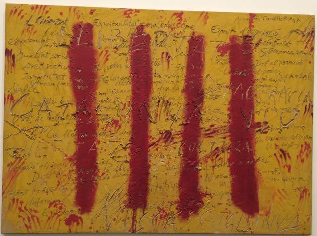 'In The Catalan Spirit by Antoni Tapies