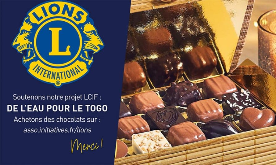 lions chocolat