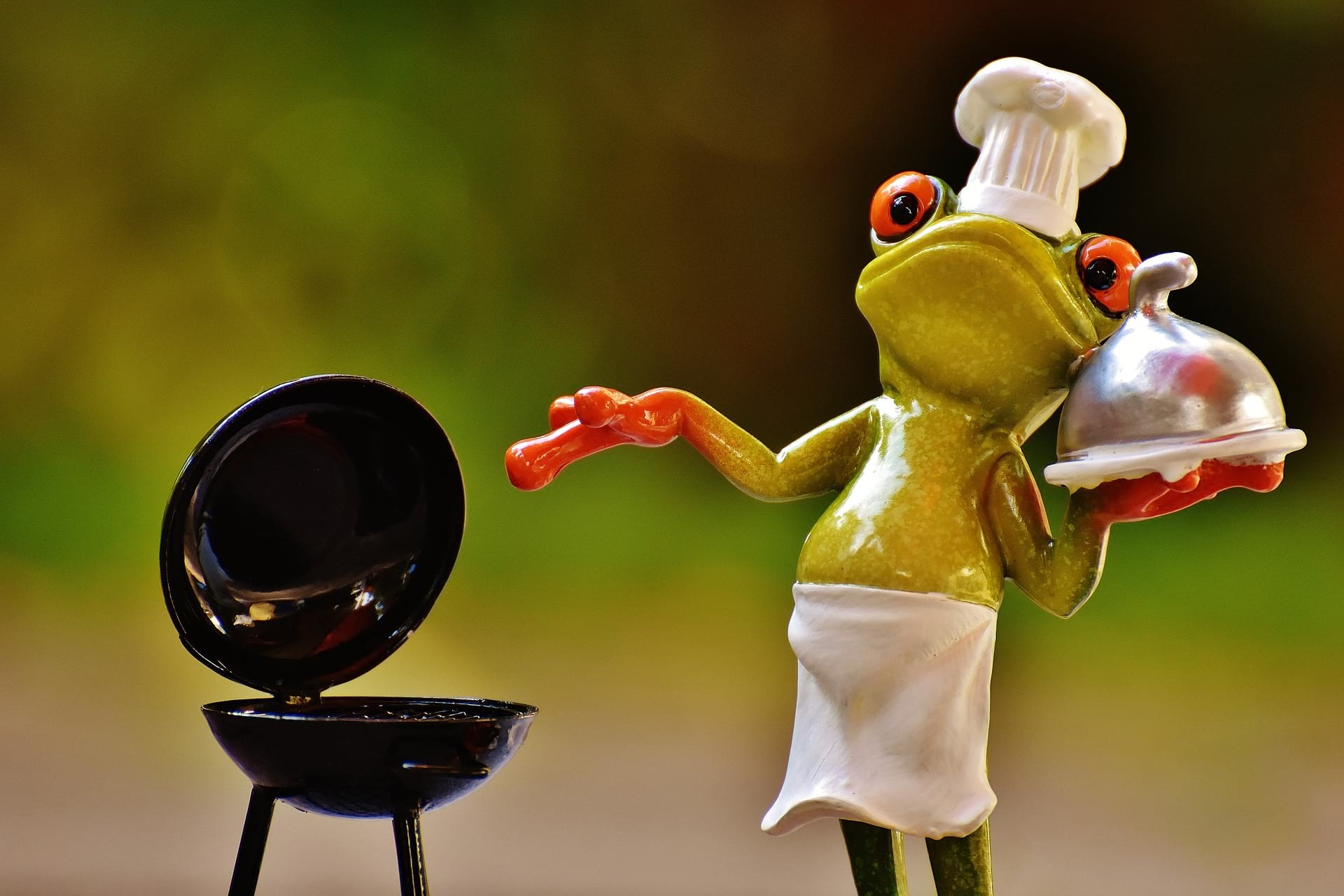frog bbq