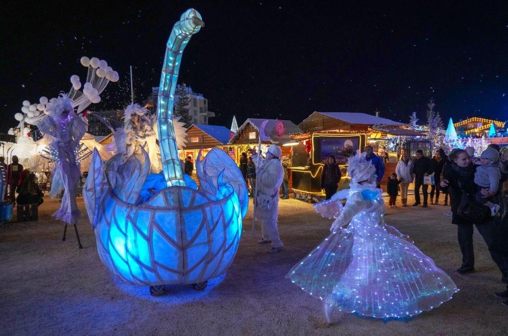 Le Village de Noël, Le Barcarès….a winter wonderland   P O Life
