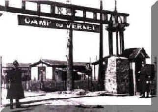 Transit camp in Vernet in the Ariège