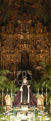 La Vierge des 7 douleurs.