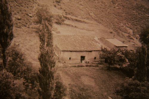 Oldest photo of La Coume farm
