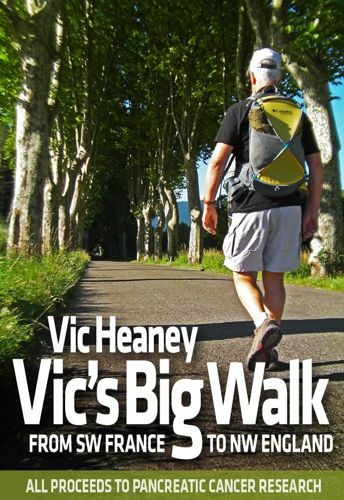 Vic's big walk