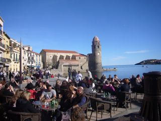 Collioure on New Year's Day