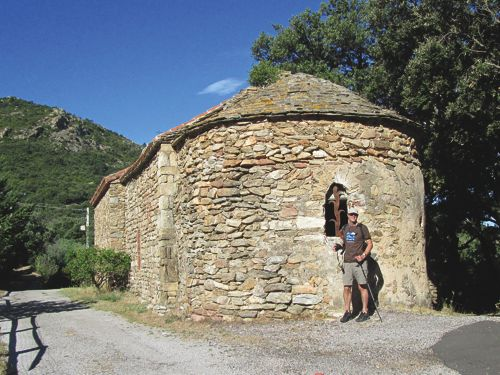 La Vall to the Château d'Ultrera
