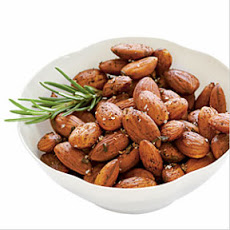 cayenne and rosemary almonds
