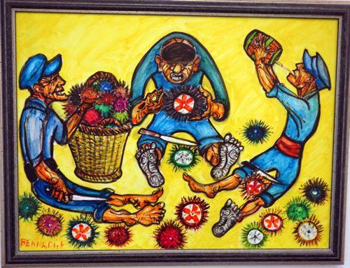 Fisherman-artist: Francois Bernadi