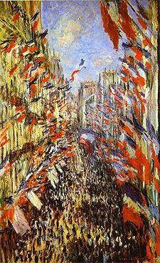 Bastille Day by Monet