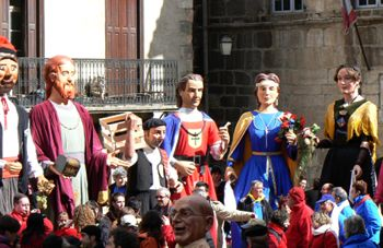 Giants of Villefranche de Conflent