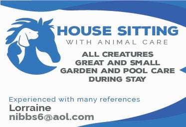 house & pet sitting