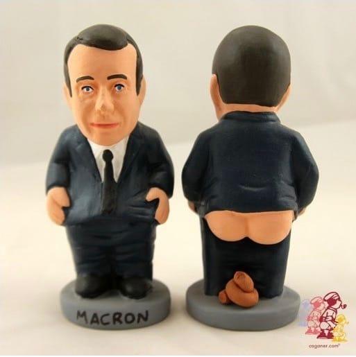 macron Caganer