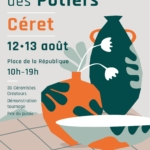 Ceret pottery and craft market